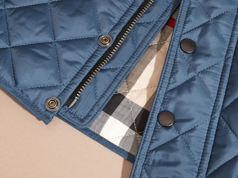 Bright steel blue Lightweight Quilted Jacket Bright Steel Blue - cell image 1