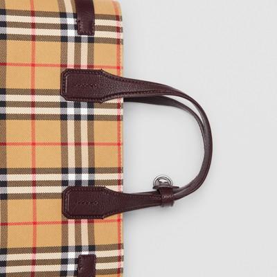 Burberry - Sac TheBanner moyen en cuir et à motif Vintagecheck - 2