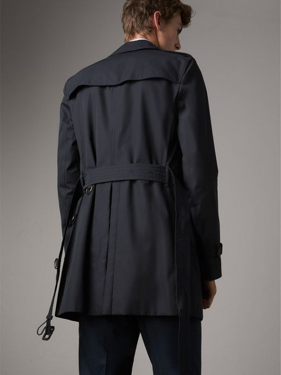 The Sandringham – Mid-length Heritage Trench Coat in Navy - Men | Burberry Singapore - cell image 2