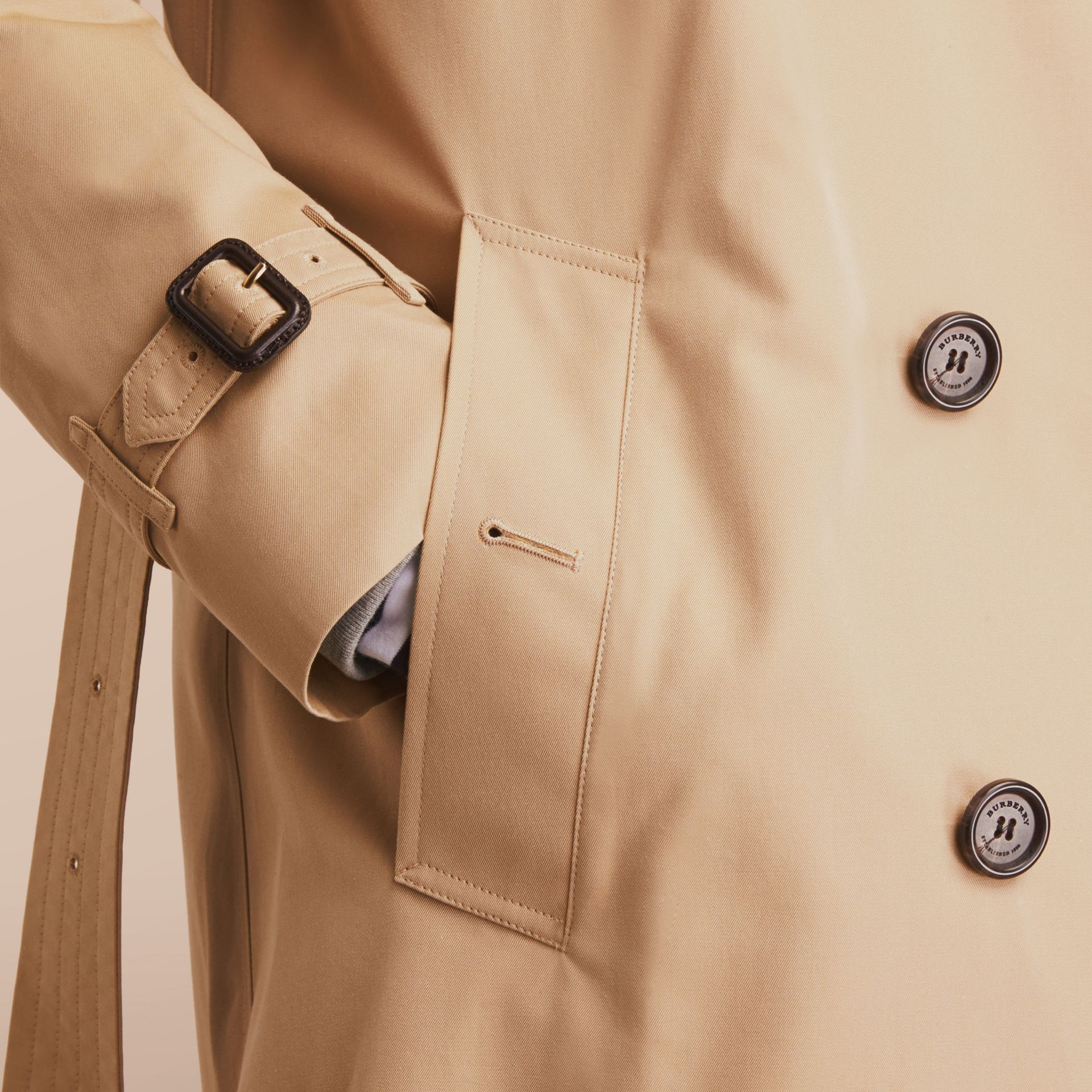 The Kensington – Long Heritage Trench Coat Honey - gallery image 6