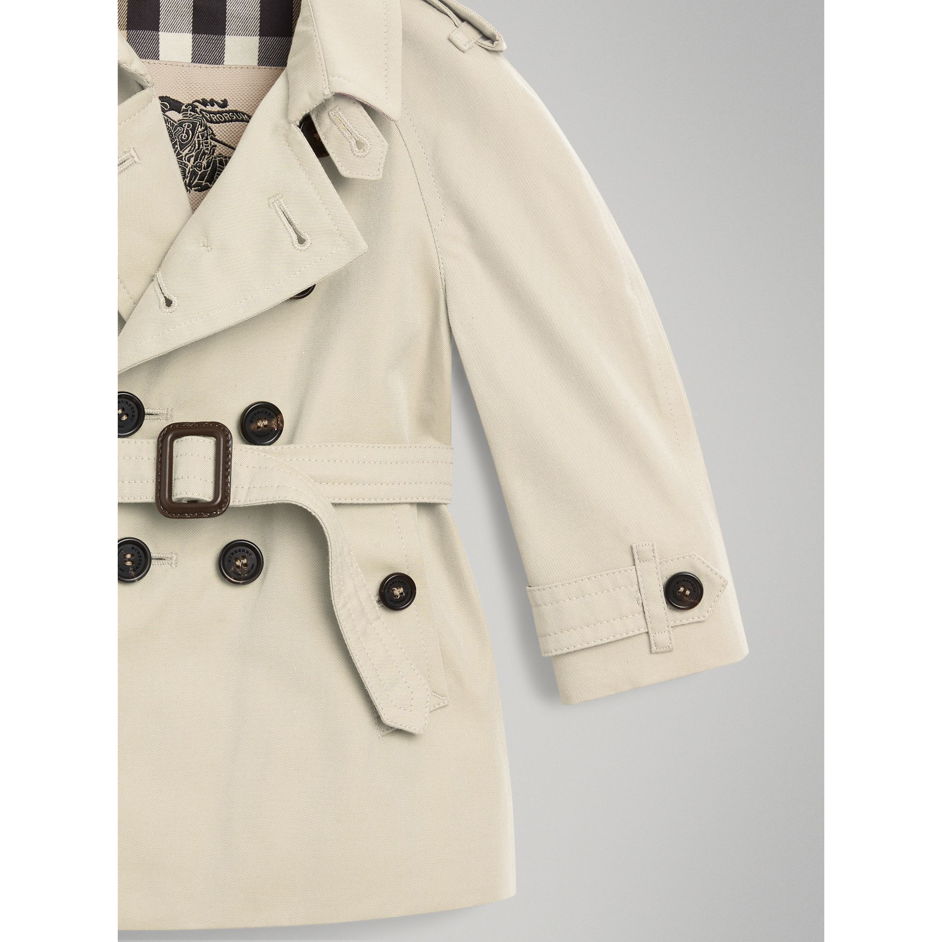 Trench The Wiltshire (Stone) | Burberry - photo de la galerie 1