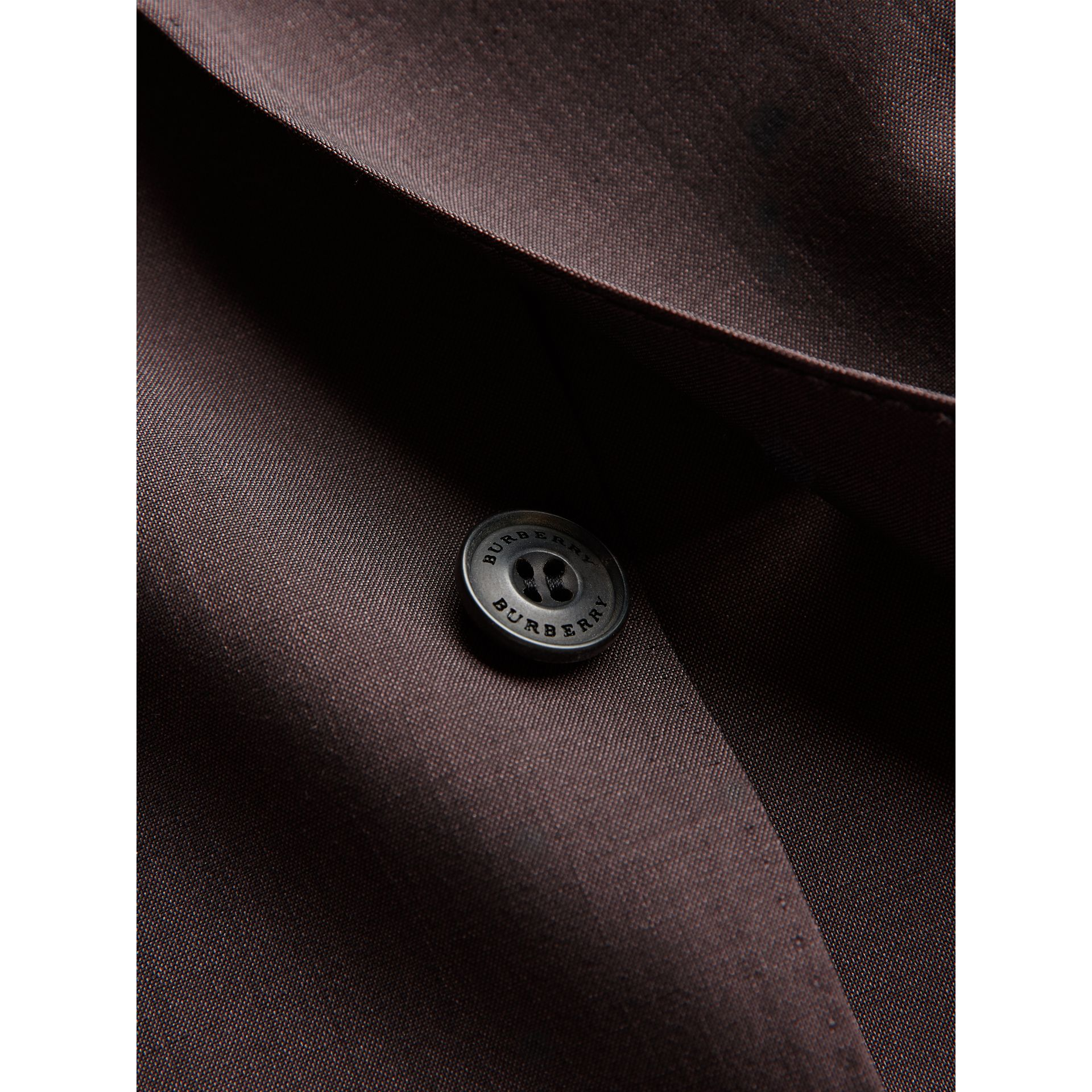 Soho Fit Wool Mohair Suit in Chestnut Brown - Men | Burberry - gallery image 2