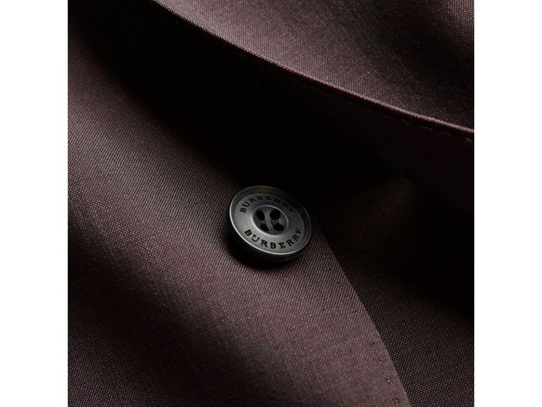 Soho Fit Wool Mohair Suit in Chestnut Brown - Men | Burberry - cell image 1
