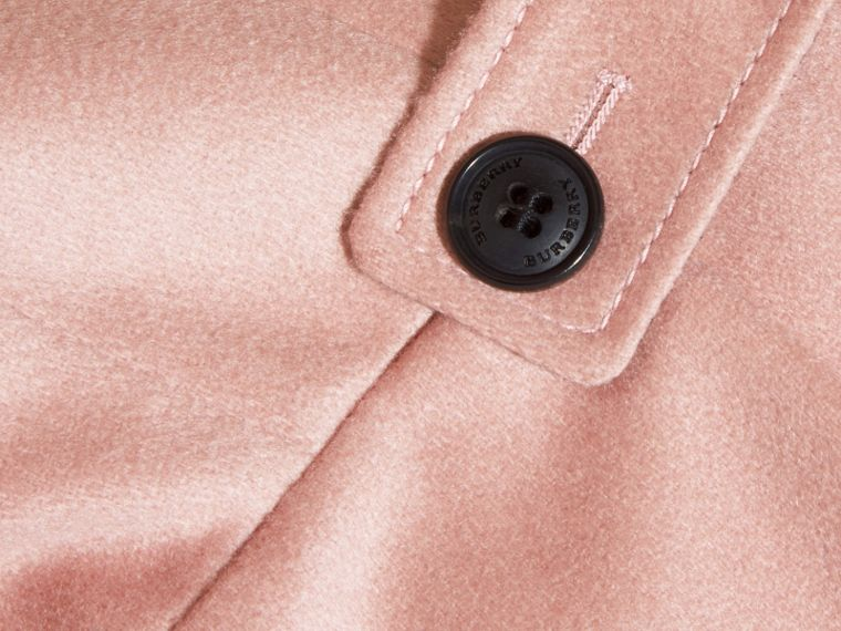 Chalk pink Cashmere Military Coat Chalk Pink - cell image 1