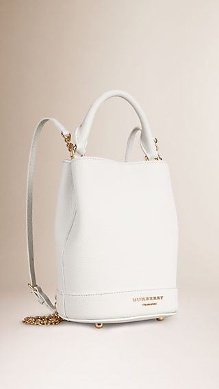 The Bucket Backpack in Leather