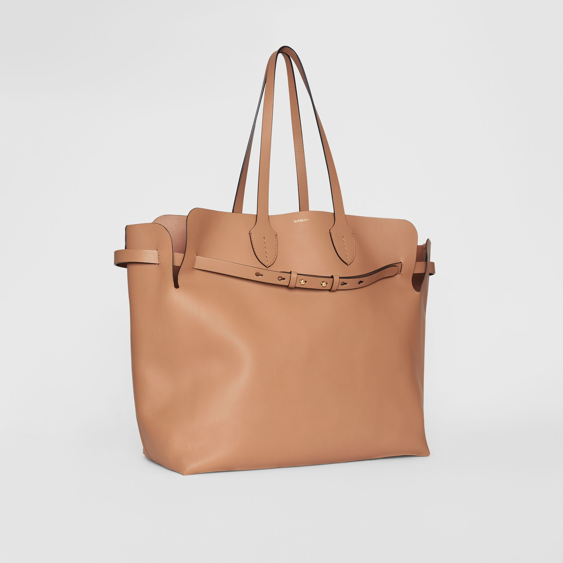 Grand sac The Belt en cuir doux (Camel Clair) - Femme | Burberry Canada - photo de la galerie 6
