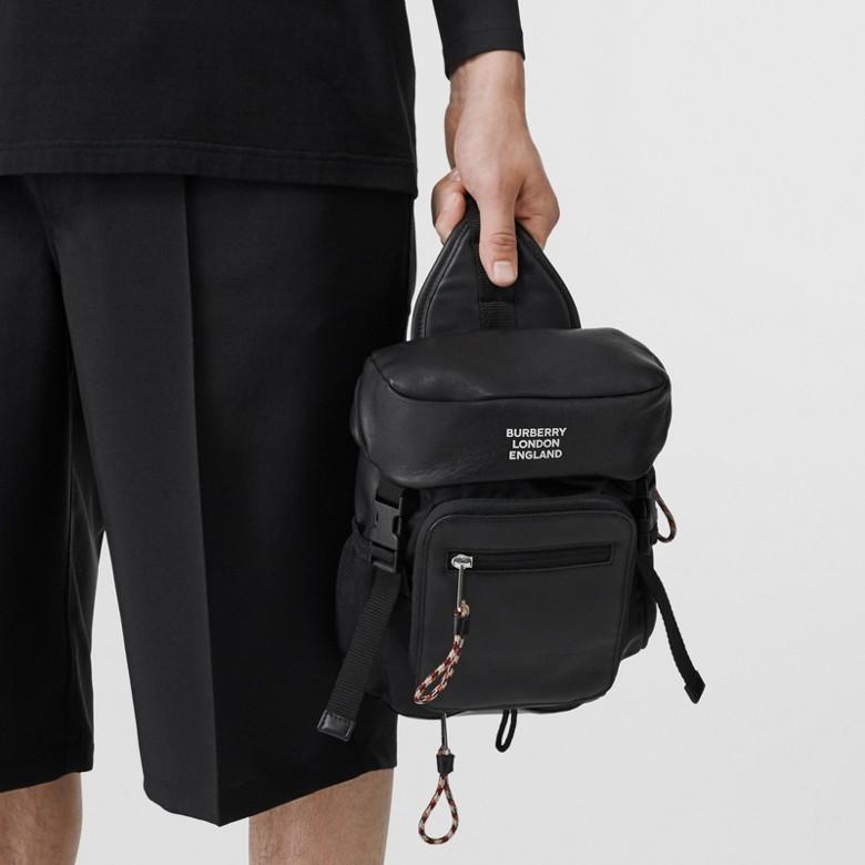 Burberry - Sac à dos ceinture Leo en cuir avec logo - 3