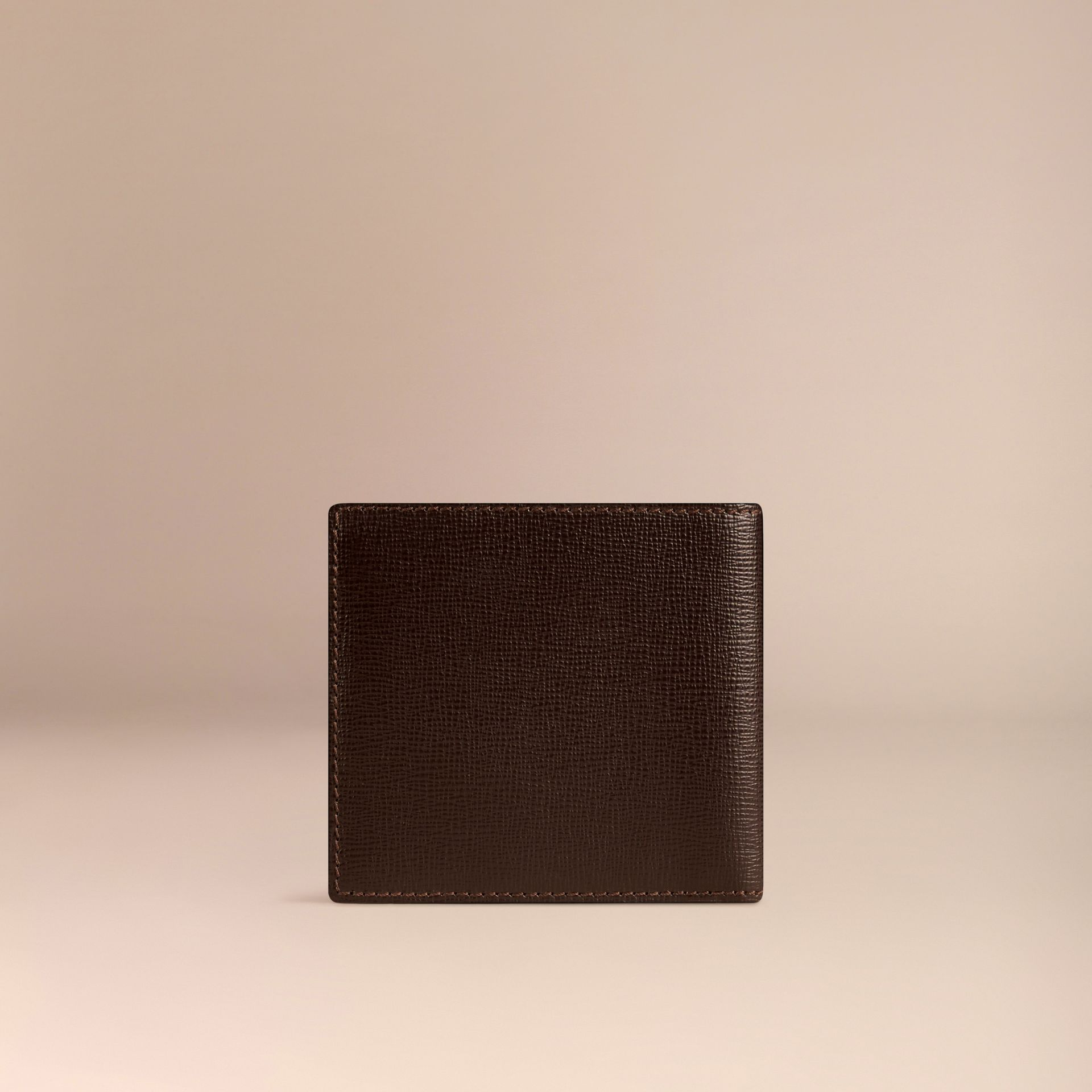 Wine London Leather Folding Wallet - gallery image 3