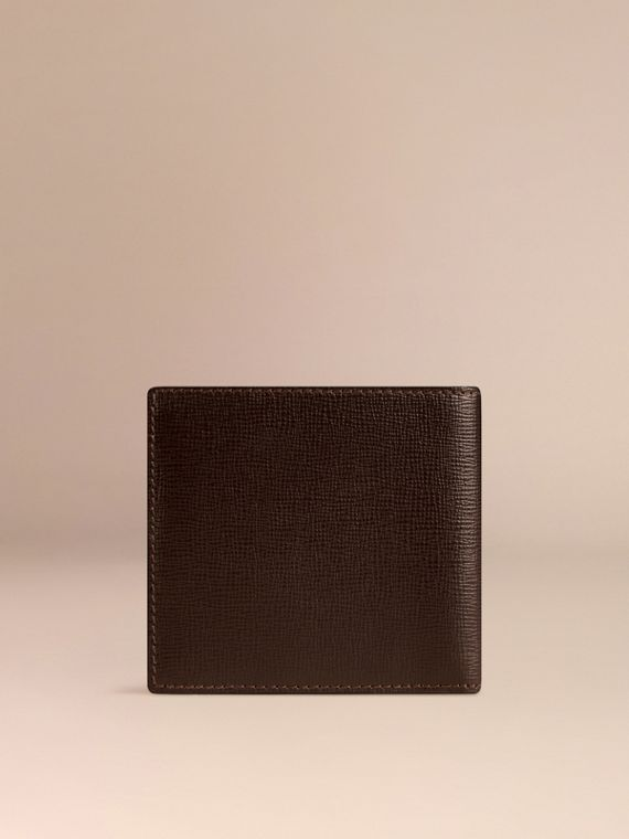 Wine London Leather Folding Wallet - cell image 2