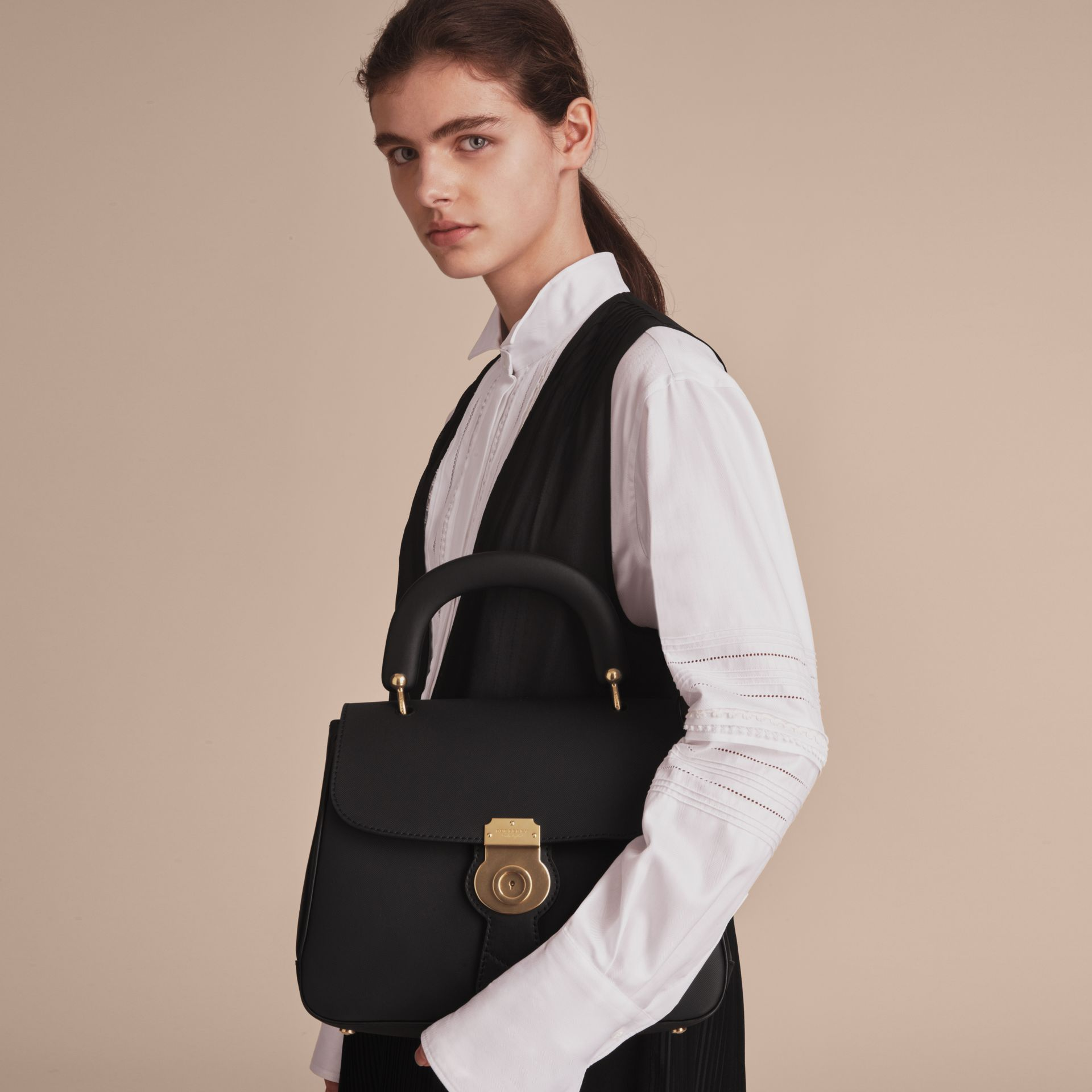 The Medium DK88 Top Handle Bag in Black - Women | Burberry Hong Kong - gallery image 7
