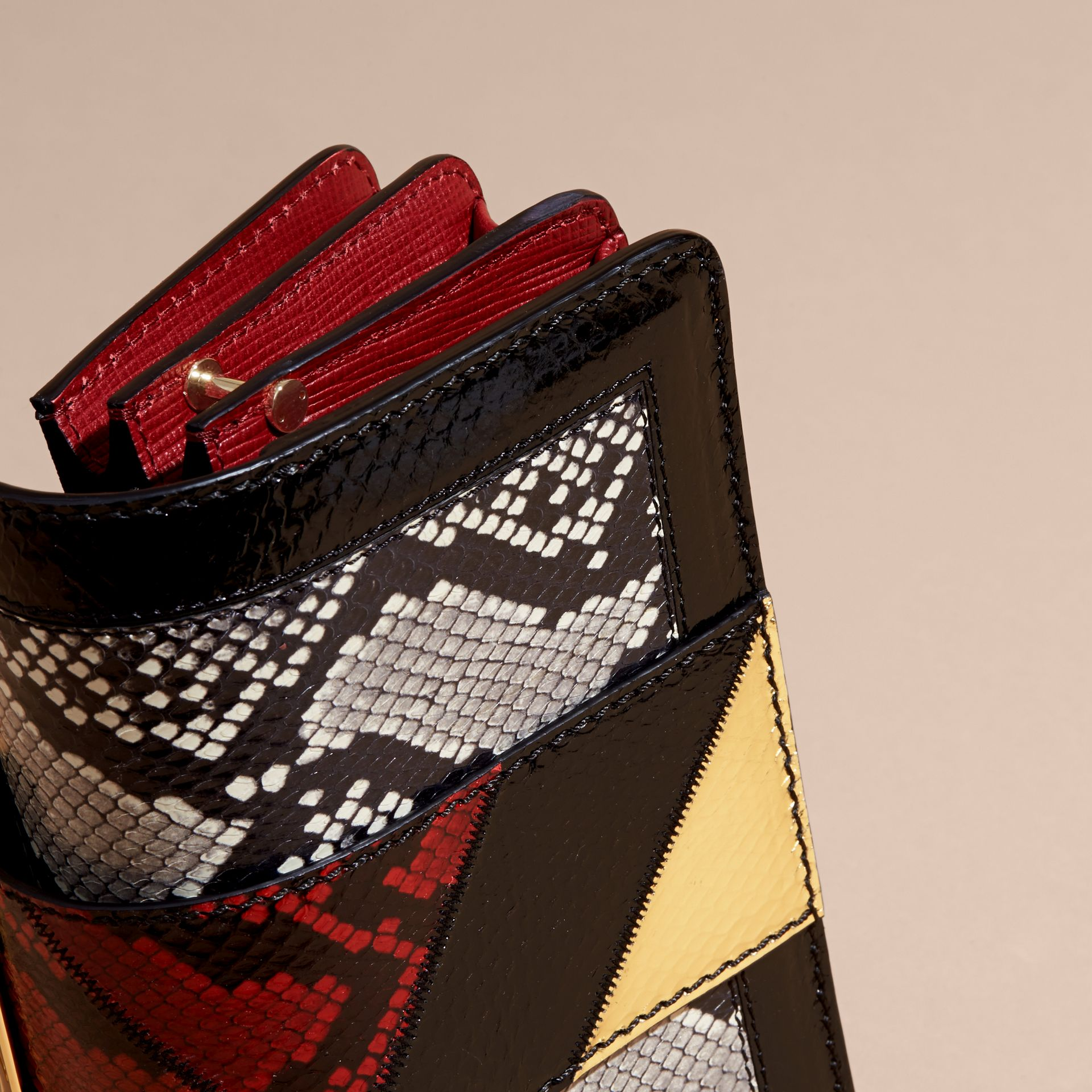 The Patchwork in Snakeskin, Leather and Suede - gallery image 2