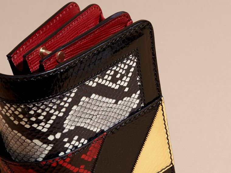 The Patchwork in Snakeskin, Leather and Suede - Women | Burberry - cell image 1