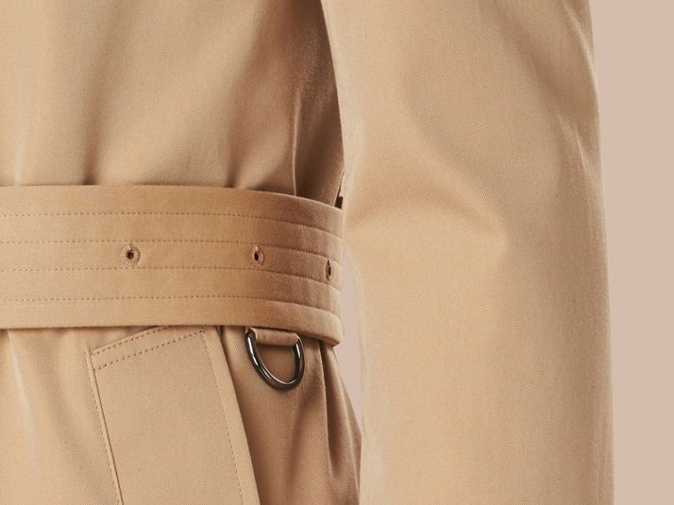 Miele Trench coat medio in gabardine di cotone - cell image 4