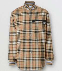 899f320865a203 Casual Shirts for Men | Button Ups & Button Downs | Burberry United ...