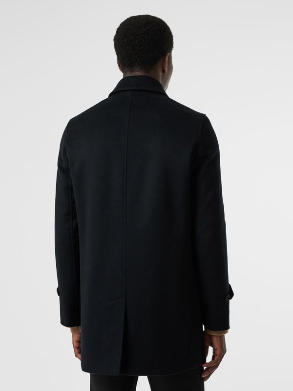 Wool Cashmere Car Coat in Navy - Men | Burberry United Kingdom - cell image 2