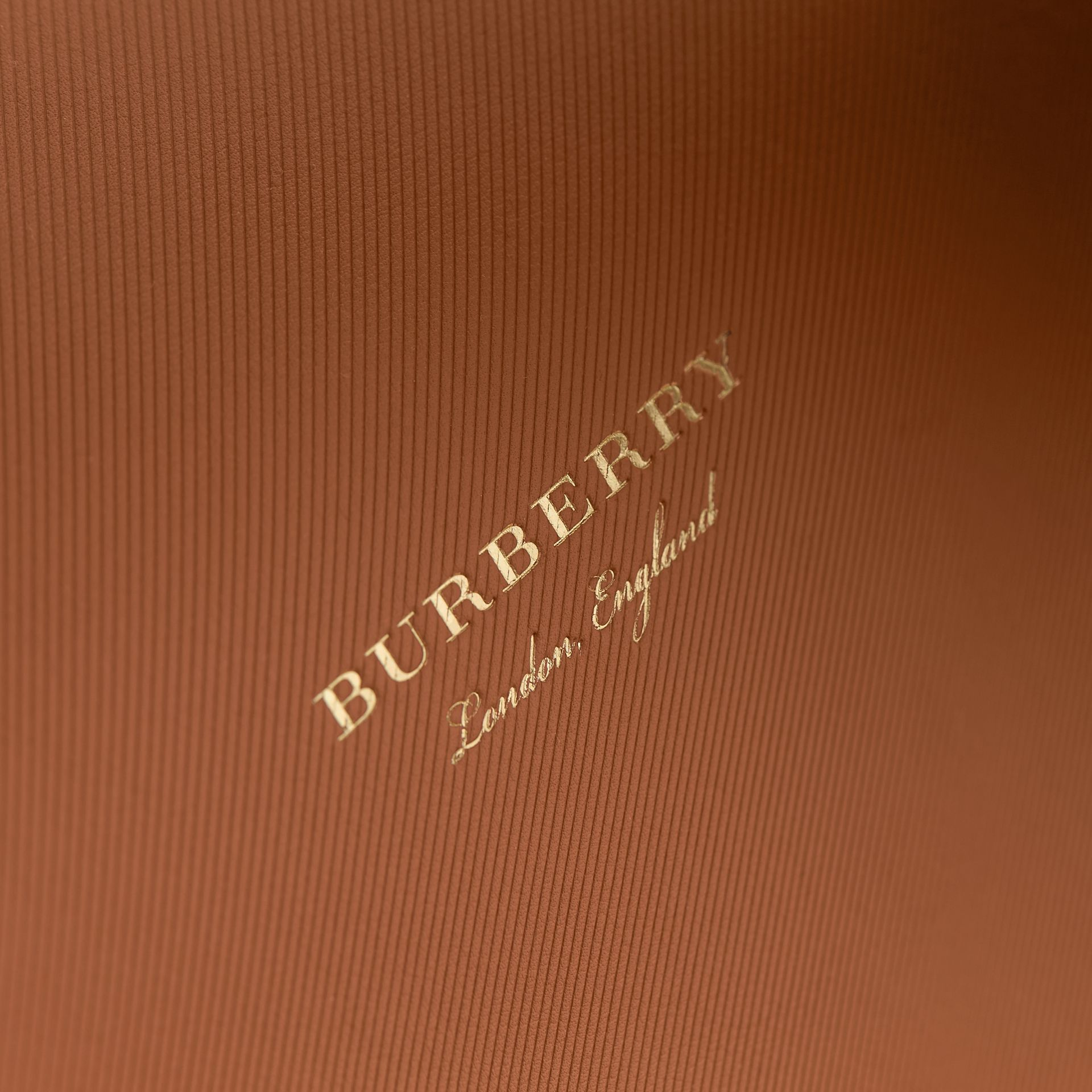 The Large DK88 Top Handle Bag in Bright Toffee - Women | Burberry - gallery image 6