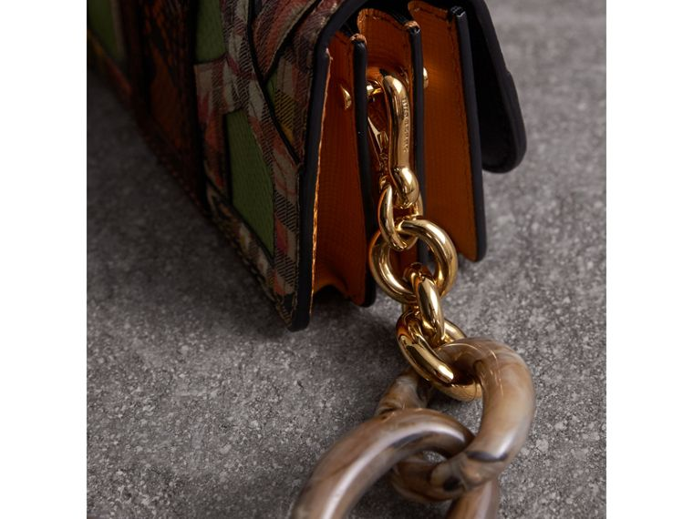 The Small Buckle Bag in Snakeskin and Floral Print - Women | Burberry - cell image 1