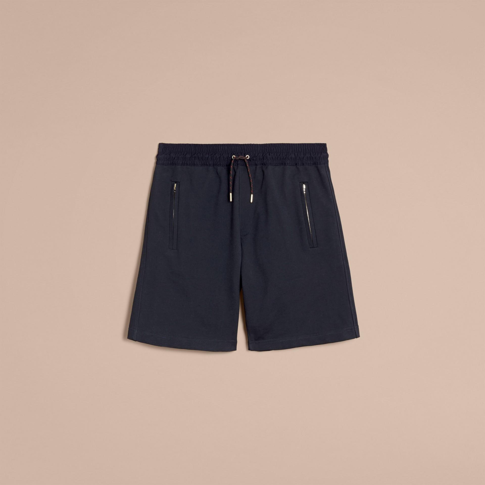 Lightweight Cotton Jersey Shorts - gallery image 4