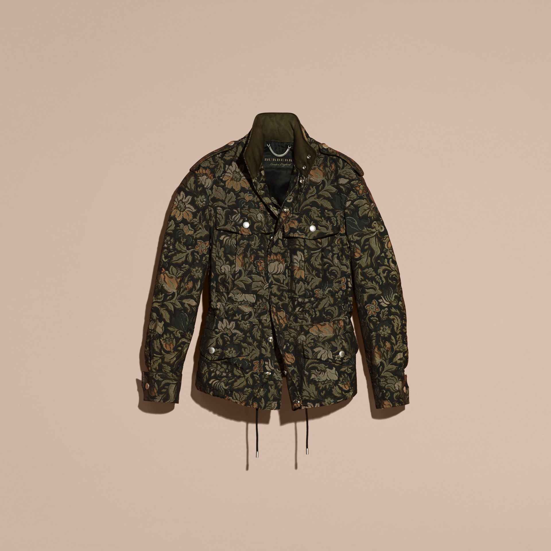 Sage The Floral Field Jacket - gallery image 4