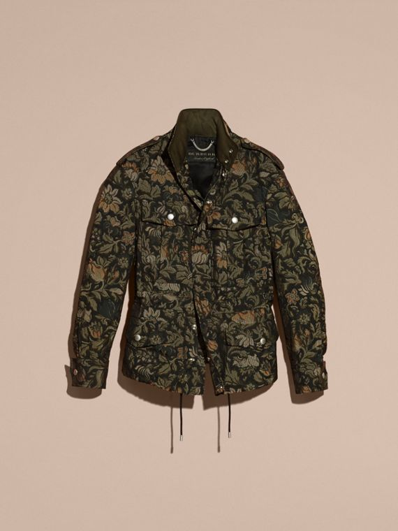Sage The Floral Field Jacket - cell image 3