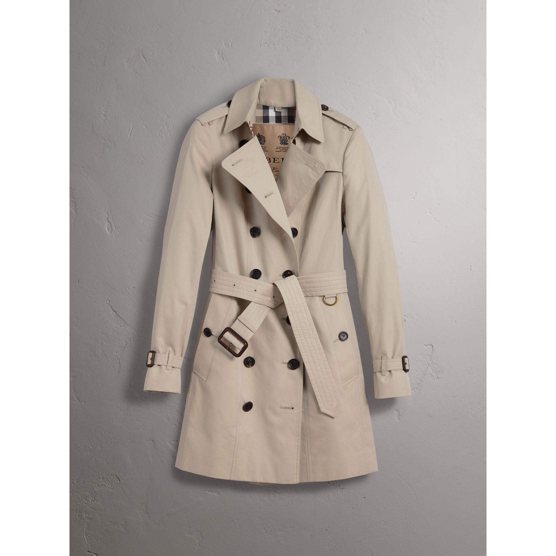 The Sandringham – Trench mi-long (Stone) - Femme | Burberry - photo de la galerie 4