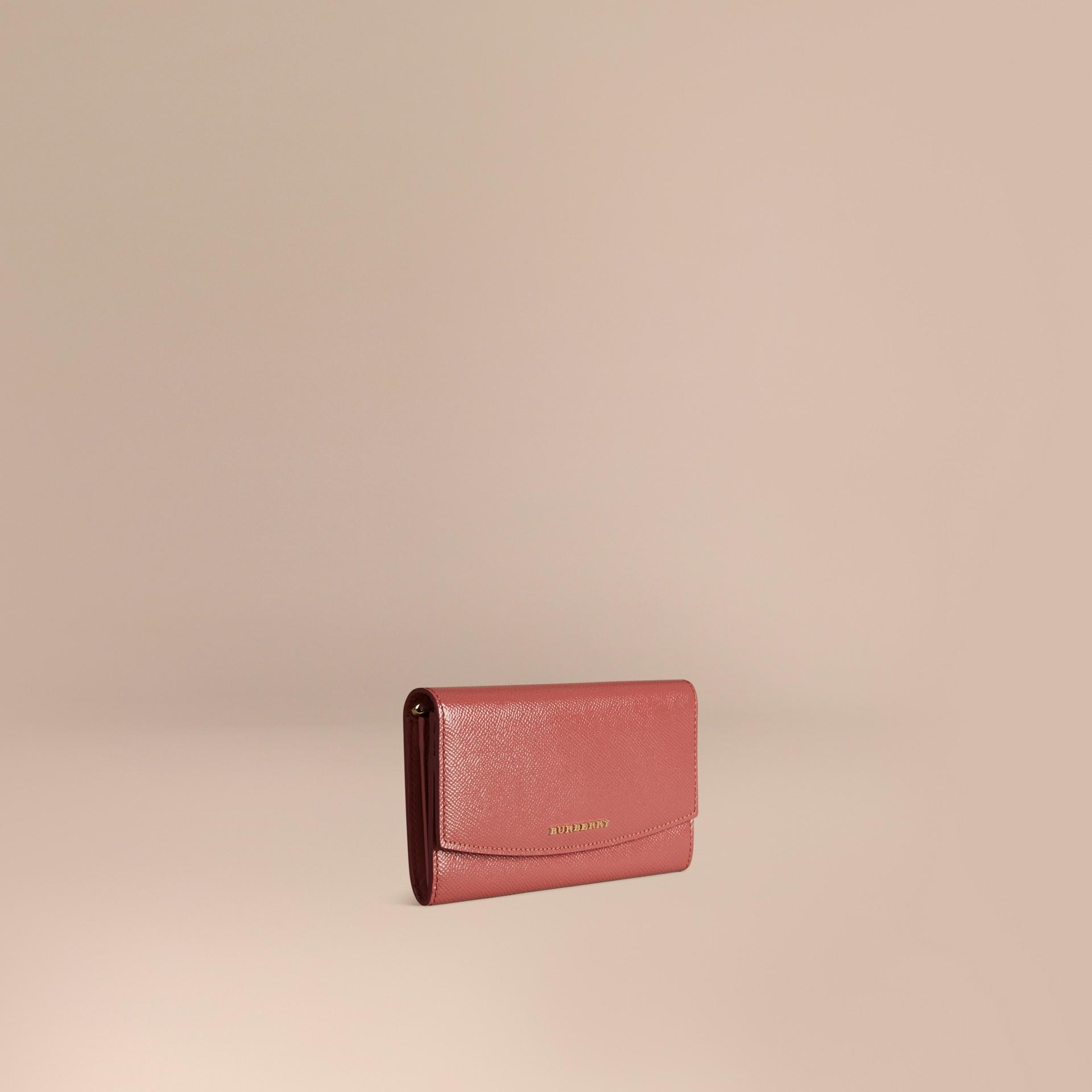 Античная роза Классический бумажник из кожи London Античная Роза - изображение 1