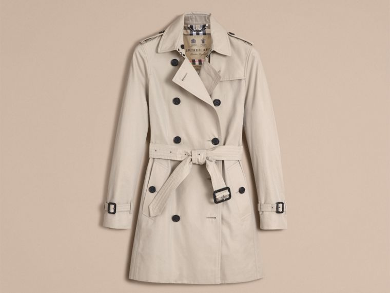 Stone The Kensington – Mid-Length Heritage Trench Coat Stone - cell image 4