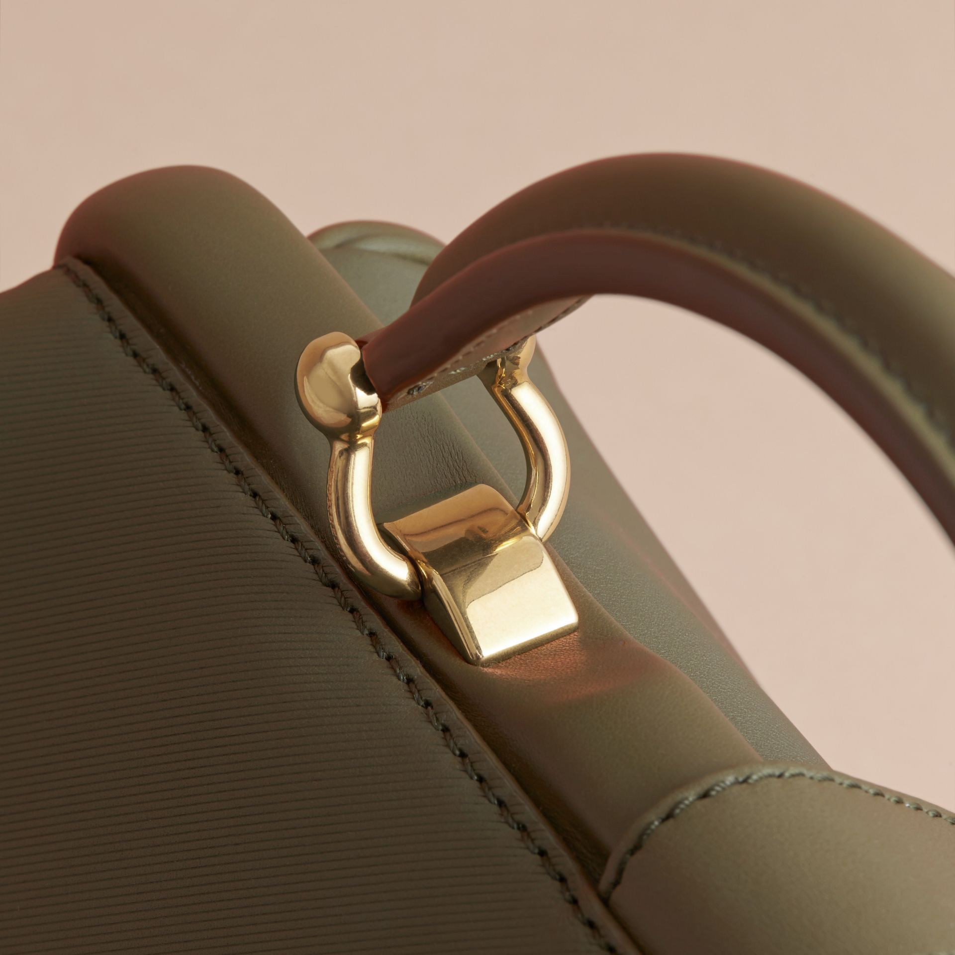 The DK88 Bowling Bag in Moss Green - Women | Burberry United Kingdom - gallery image 4