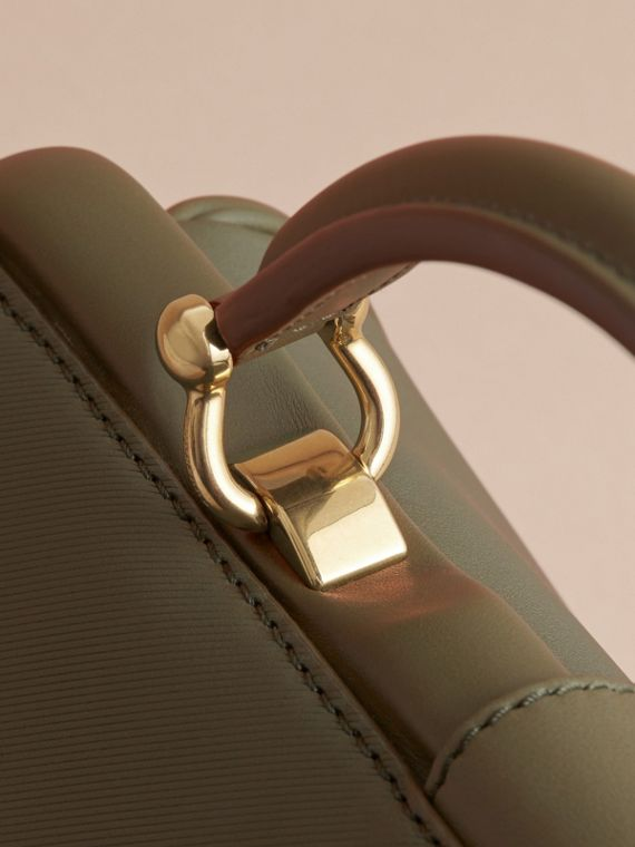 The DK88 Bowling Bag in Moss Green - Women | Burberry United Kingdom - cell image 3