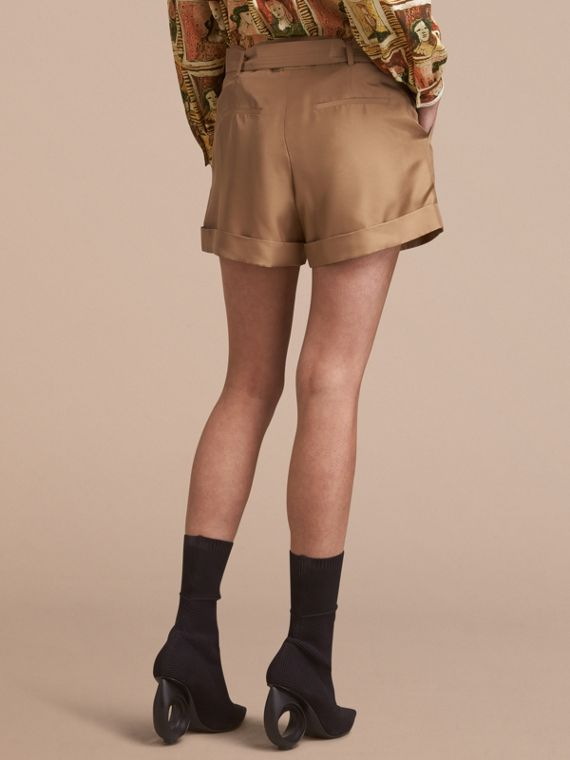 Tailored Silk Shorts - cell image 2