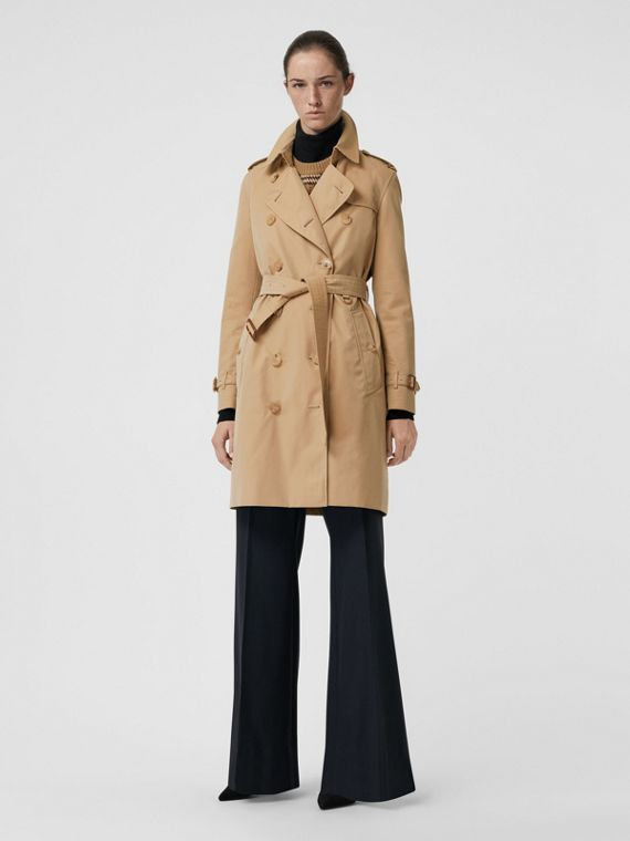 8b75e822df0 The Kensington Heritage Trench Coat in Honey