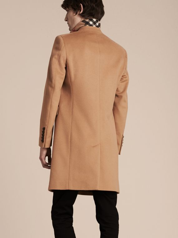 Camel Wool Cashmere Tailored Coat Camel - cell image 2