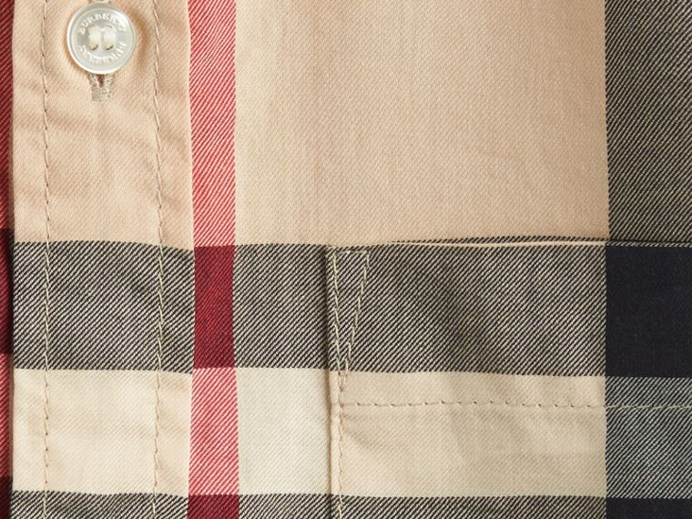 New classic Short-sleeve Check Cotton Twill Shirt New Classic - cell image 1