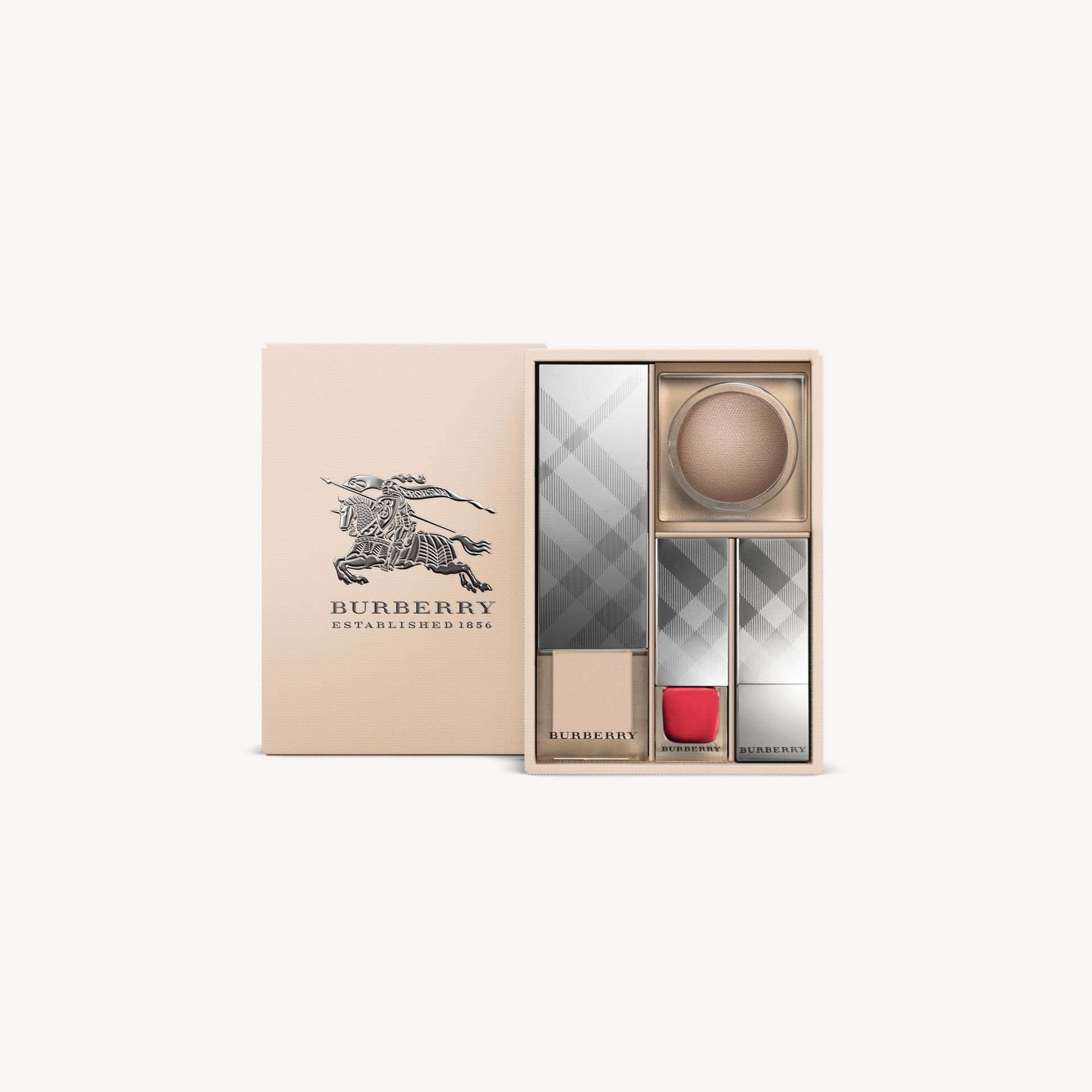 Military red Burberry Signature Look Nude Glow - gallery image 2