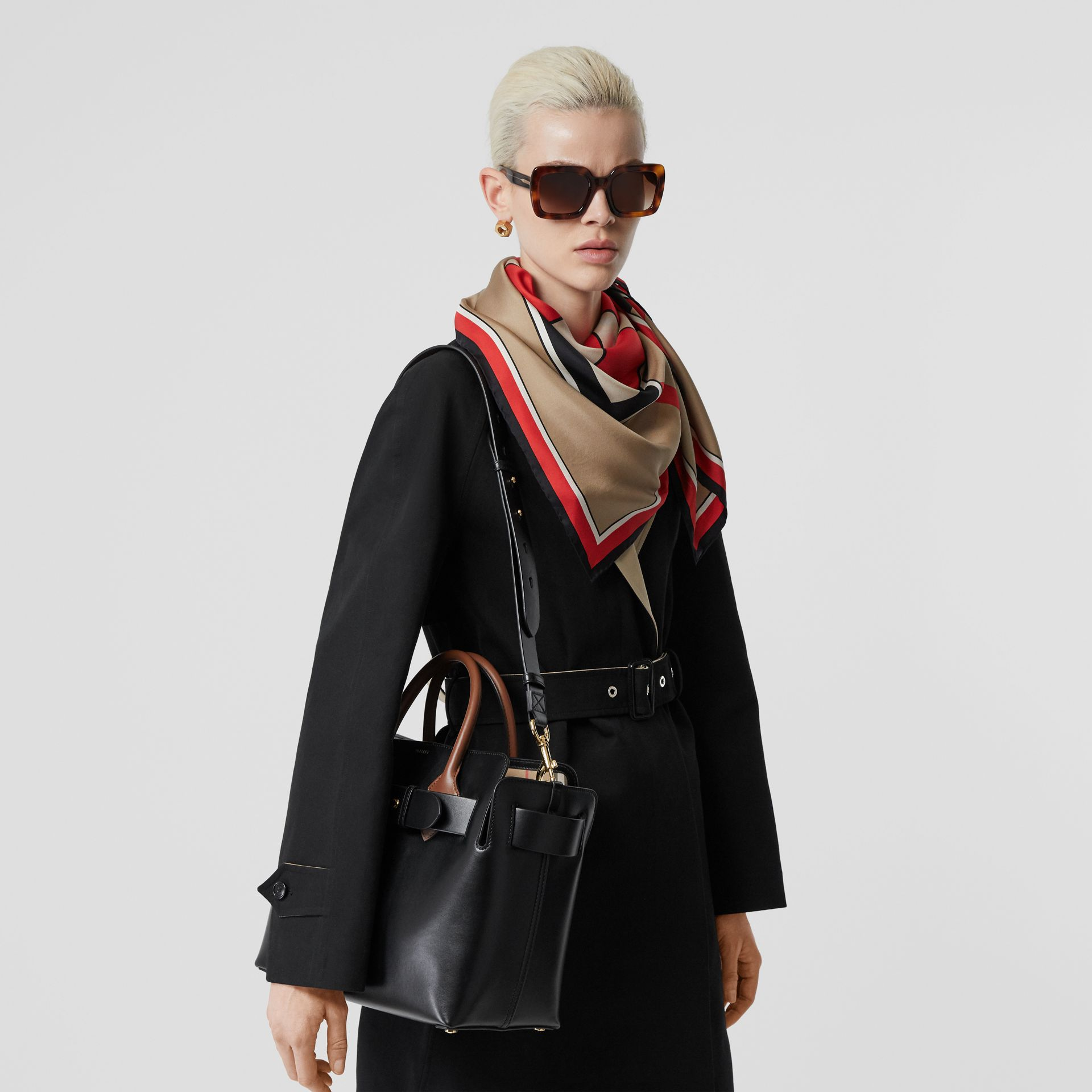 The Small Belt Bag aus Leder mit Ziernieten (Schwarz) - Damen | Burberry - Galerie-Bild 2