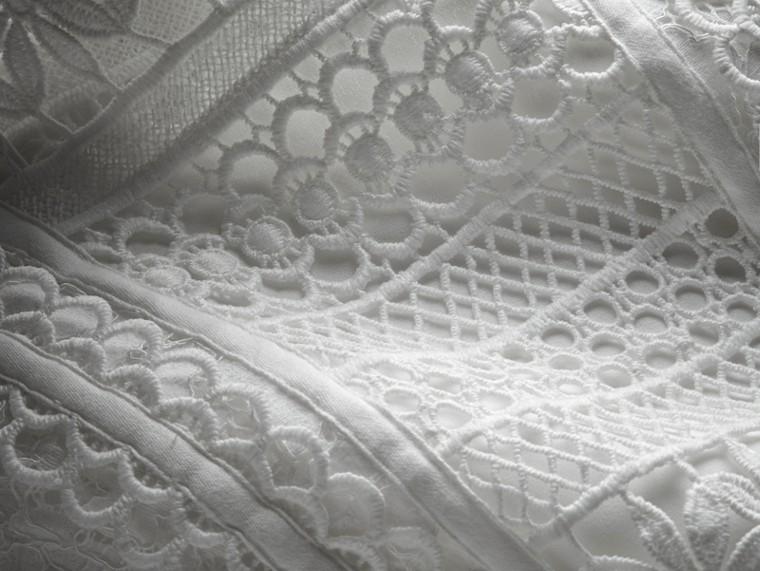 Платье без рукавов из кружева макраме - Для женщин | Burberry - cell image 1