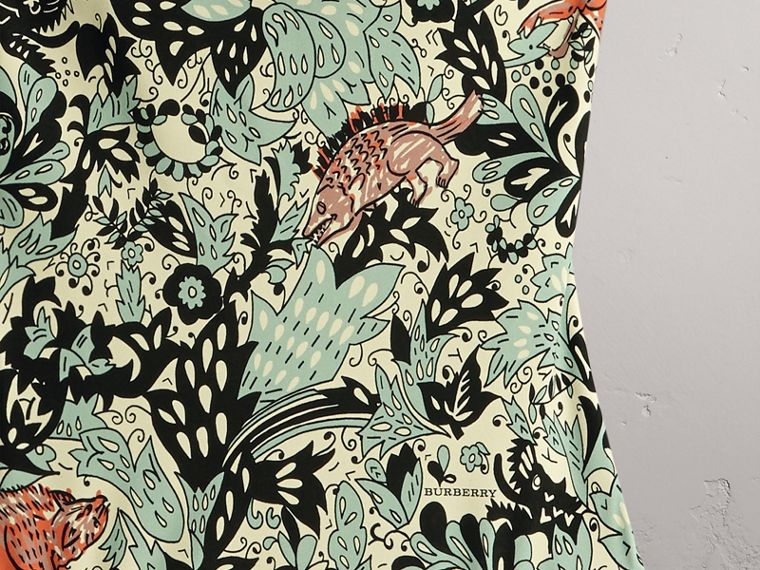 Beasts Print Swimsuit - Women | Burberry - cell image 1