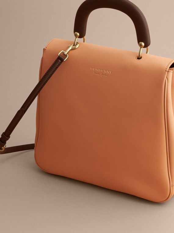 The Large DK88 Top Handle Bag Pale Clementine - cell image 3
