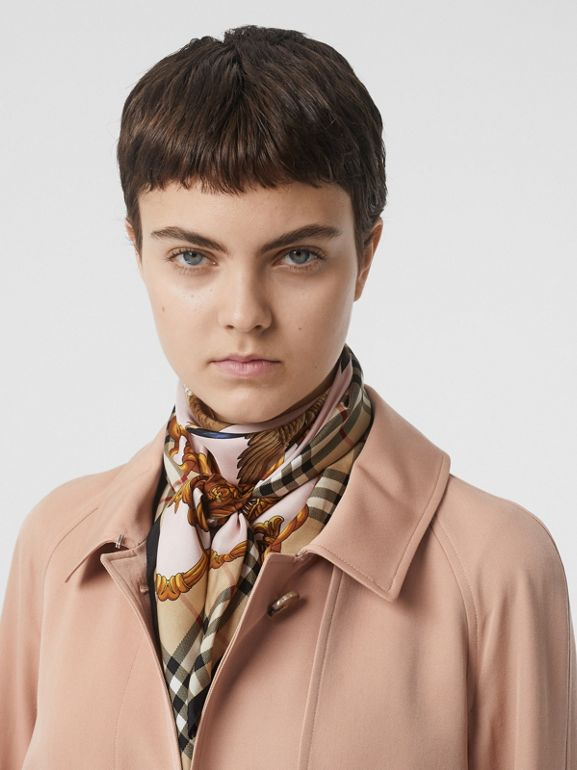 Trenchcoat aus Wollgabardine (Rougerosa) - Damen | Burberry - cell image 1