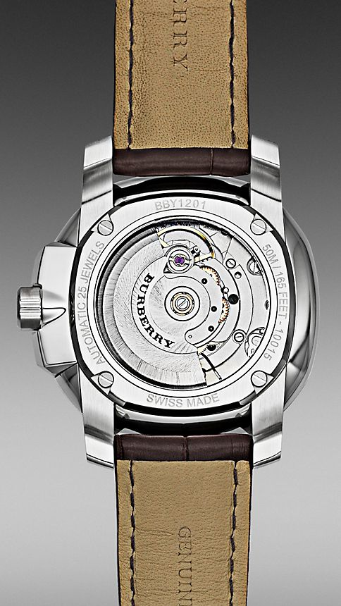 Marron Montre automatique The Britain BBY1201 43 mm - Image 4