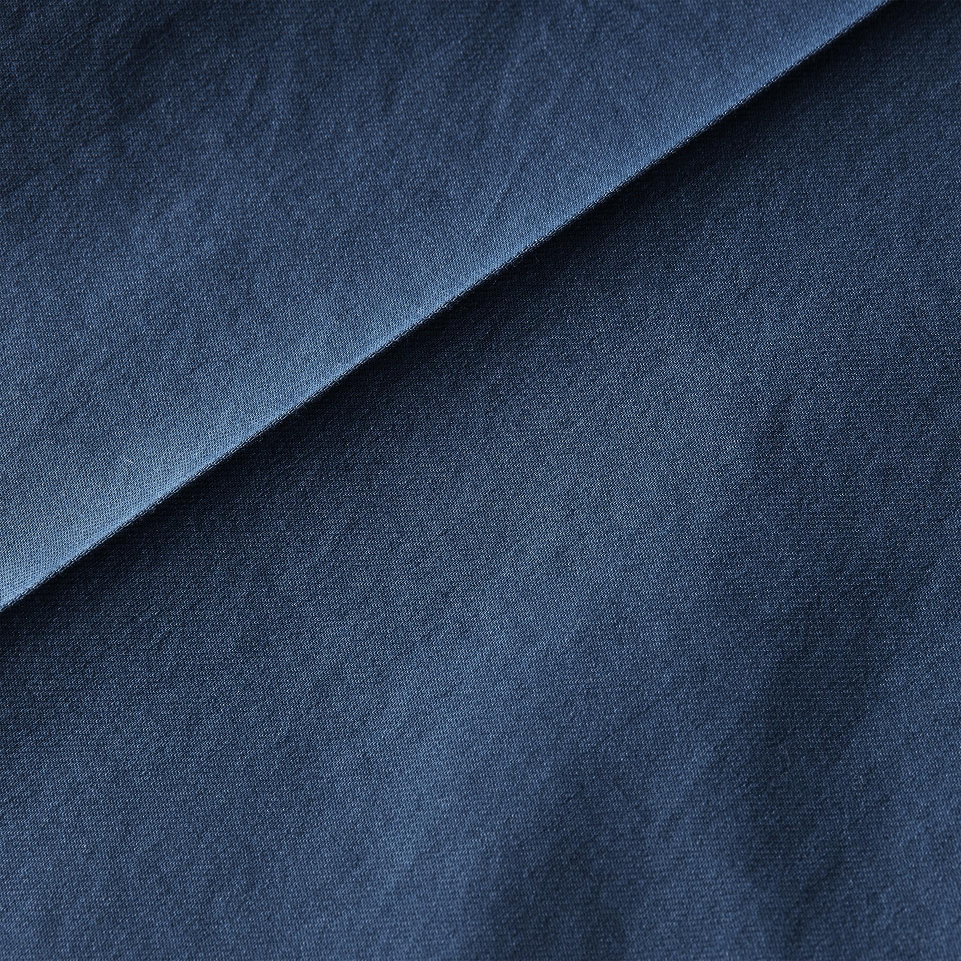 Bleu acier vif Pantalon slim en coton extensible Bleu Acier Vif - photo de la galerie 2