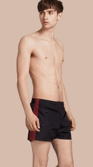Stripe Detail Swim Shorts