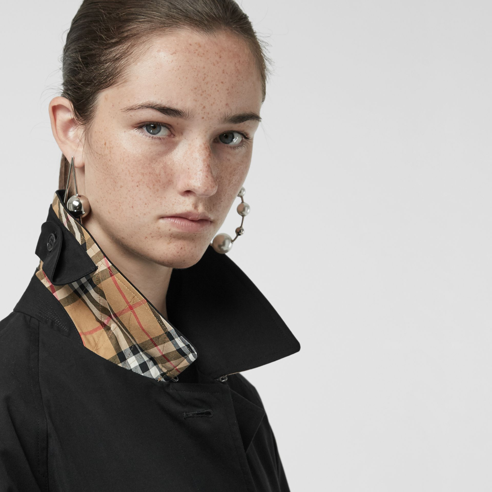The Brighton Car Coat in Black - Women | Burberry - gallery image 1