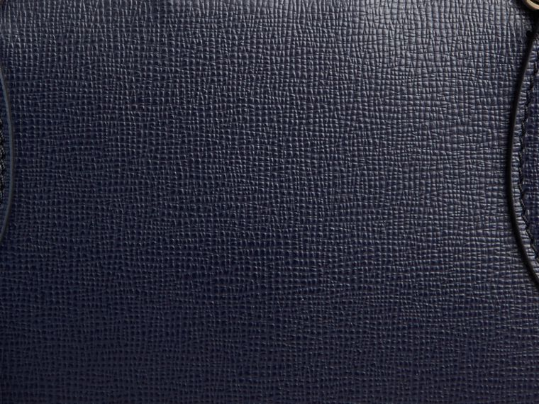 Borsa portadocumenti media in pelle London Navy Scuro - cell image 1