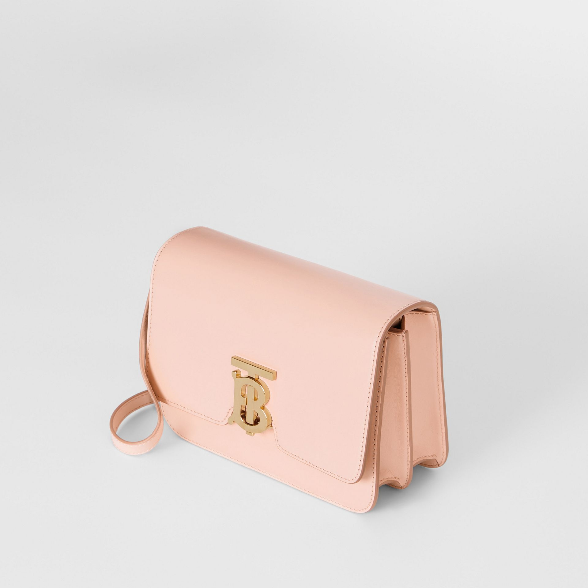 Petit sac TB en cuir (Beige Rose) - Femme | Burberry - photo de la galerie 3