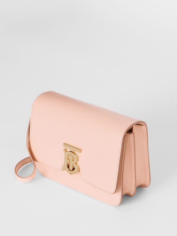 Small Leather TB Bag in Rose Beige - Women | Burberry - cell image 3