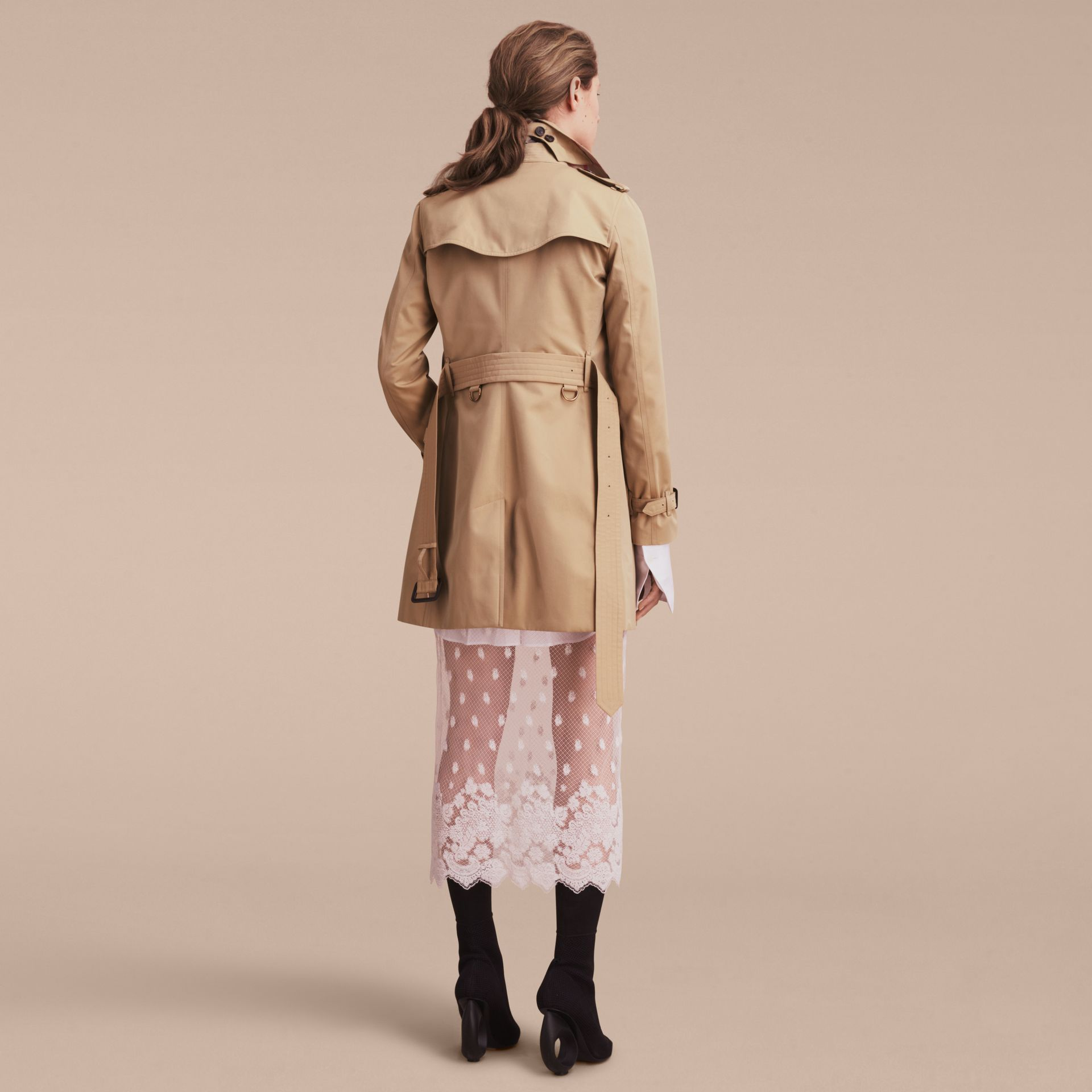 Mel The Kensington – Trench coat Heritage médio Mel - galeria de imagens 4