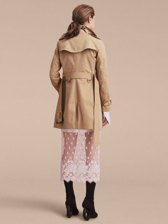 Honey The Kensington – Mid-Length Heritage Trench Coat Honey - cell image 3