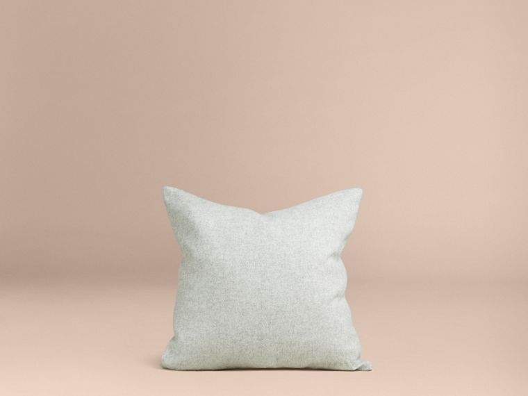 Pale grey Cashmere Cushion Cover - cell image 2