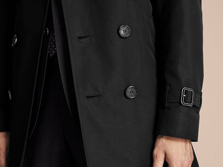 Black The Sandringham – Mid-length Heritage Trench Coat Black - cell image 4